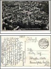1939 BISCHOFSWERDA Orig. Fliegeraufnahme, Stempel, Feldpost Feldpostkarte 2. WK