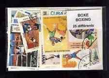 Boxeo - Boxing 25 sellos diferentes matasellados