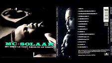RARE MC SOLAAR qui seme le vent récolte le tempo CD album digipack édition 1997