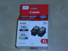 2 PACK CANON 240XL/241XL BLACK AND COLOR PIXMA CARTRIDGES (*NEW* Genuine)