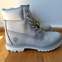 Womens Grey Timberland boots (size 8)
