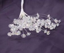 Iridescent Crystal Spray Bunch  x 12 Stems, Wedding flower Bouquets,Buttonholes