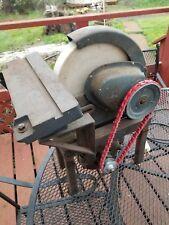 "E 1401 Vintage Craftsman  10"" Wet whet Stone sharpening Wheel  108.1 stand motor"