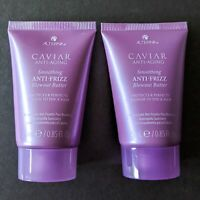 LOT/2 ALTERNA Caviar Anti-Aging Smoothing Anti-Frizz BLOWOUT BUTTER | Travel Set