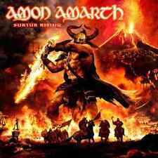 AMON AMARTH - SURTUR RISING - LP REISSUE BLACK VINYL NEW SEALED 2017