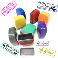 Custom Self Inking Rubber Stamp 3 Lines Personalized Designer Address Stamps