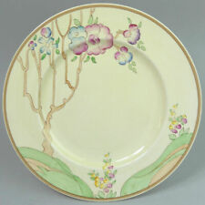 CLARICE CLIFF ART DECO CHIPPENDALE TREES NEWPORT POTTERY 10 INCH PLATE 1930's