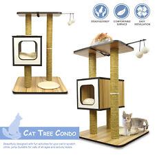PARTYSAVING PET PALACE Cat Tree Tower Furniture Condo w/ Sisal Scratching Posts