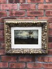 C1885 American School Tonalist Oil On Canvas Landscape Signed M Wakeman. <br/> After Robert Swaine Gifford. Near The Coast 1885.