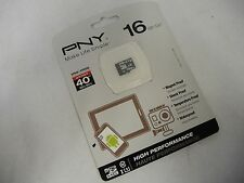 PNY High Perf 16GB High Speed MicroSDHC Class 10 UHS-1 Up to 40MB/sec (31575)