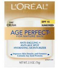 L'Oreal Age Perfect Anti-Sagging & Hydrating Day Cream SPF 15 2.5 oz.
