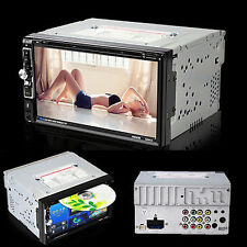 "7"" Double 2 Din Car DVD CD MP3 Player Stereo In Dash Radio USB Touch Bluetooth"