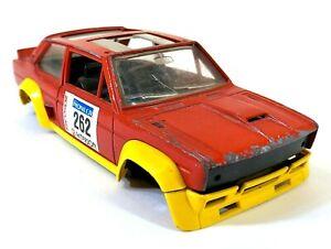 Bburago 0145 Fiat 131 Abarth Rally 1/24 Italy Vintage Toy Car Diecast M656