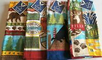"RUSTIC Kitchen Towel Assortment  100% Cotton  15"" x 25"" {Your Choice}"