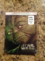 Star Wars Episode II:Attack of the Clones(Blu-ray,2015,SteelBook)NEW AuthenticUS