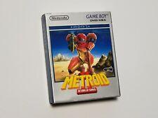 Game Boy Metroid 2 II Return of Samus Boxed Japan GB game US Seller