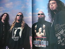 SLAYER - MAGAZINE CENTRESPREAD POSTER (REF D6)