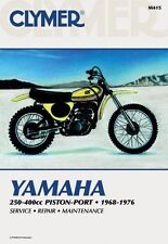 Clymer Repair Service Shop Manual Vintage Yamaha DT/MX/YZ 250,360 RT360,DT400