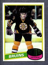 1980/81 Topps #140 Ray Bourque (R) -  Bruins  MINT