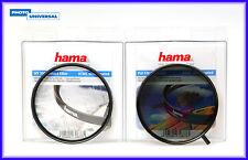 HAMA FILTER SET POL CIRCULAR + UV FILTER 72 MM HTMC 70672 / 72672 NEU