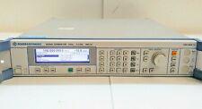 Rohde Amp Schwarz Sml03 Signal Generator Options B1b19 1090300013