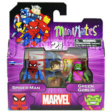 MiniMates Marvel Best of Series 1 SPIDER-MAN and GREEN GOBLIN Figure 2 Pack