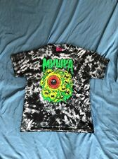 MNWKA Large Men's Black White Tie Dye Eyeball T Shirt