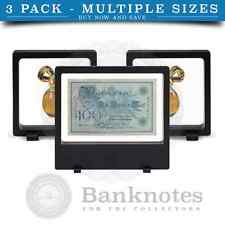 X3 Mix Sizes Lighthouse Magic Floating 3D Display Frame Coin Banknote Chips Rock