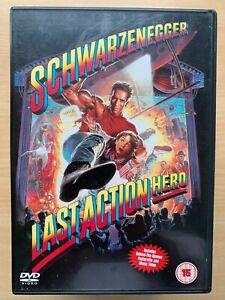 Last Action Hero DVD 1993 Action Comedy with Arnold Schwarzenegger
