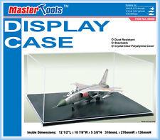 Trumpeter 9808 Model Display Case 12.5 in L x 10.8 in W x 5.34 in H & Black Base