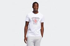 Adidas para Mujer Camiseta Logo Blanco Damian Lillard Hombre Deportivo Deporte