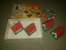 Vintage Snoopy's Doghouse Game 100% Complete Peanuts Schultz Milton Bradley