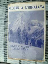 Raymond Lambert et Claude Kogan - Record à l'Himalaya - Alpinisme - montagne