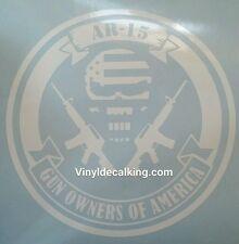 AR 15 2a Gun Decal colt firearms