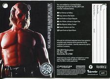 Hellboy The Movie Autograph Redemption Card AR1 [A7] Redeemed [Clean]