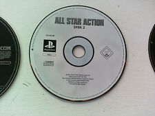 CD 2 loose de All star action Sony PS1 Playstation 1 PAL FR