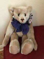 Arlene Anderson Artist Le 8/20 16� Jointed Mohair Bear Signec, Numbered, Dated