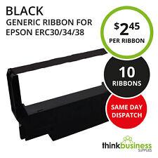 10 x Black Ink Ribbon for Epson ERC30 ERC34 ERC38 BK TM-U220 TM-U230 Printer