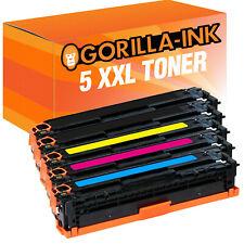 5 TONER PER HP COLOR LASERJET PRO 200 color m276nw m276n m251nw 131 a 131a