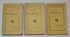 OEUVRES DE SPINOZA - Classiques Garnier - 3 volumes
