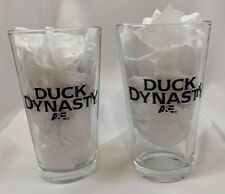 A&E's Duck Dynasty Drinking Glasses Pair