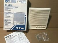 "Nutone IS-448L 8"" Radio Intercom Inside Indoor Speaker Biscuit Off White NEW"