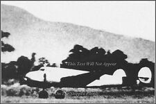 Last Known Photo Of Amelia Earhart's Lockheed Electra, Lae, July 2nd, 1937