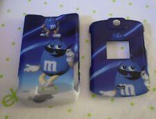 blue Hard Protector Cover Case Motorola V3 V3M v3c Snap On Razr phone Faceplate