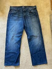 7 For all Mankind Relaxed Denim Men's Size 36 x 34