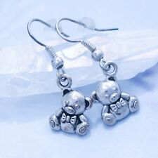 Tiny Tibbers Teddy Bear Earrings - Handmade Jewelry - League of Legends - Magic