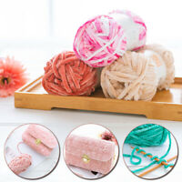 Soft Wool Crochet DIY Chenille Yarn Knitting Thread For Sweater Scarf Hat Bag