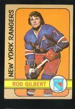 1971 - 1972 Topps Hockey Set ROD GILBERT Card