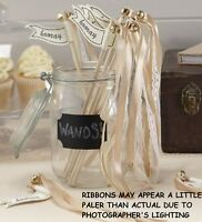 GINGER RAY VINTAGE AFFAIR 10 WEDDING BELL WANDS GOLD ALTERNATVE CONFETTI BUBBLES