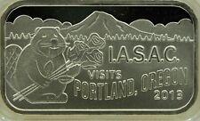 IASAC-PORTLAND 2013, limited edition, RARE! 1oz. 999 fine silver
